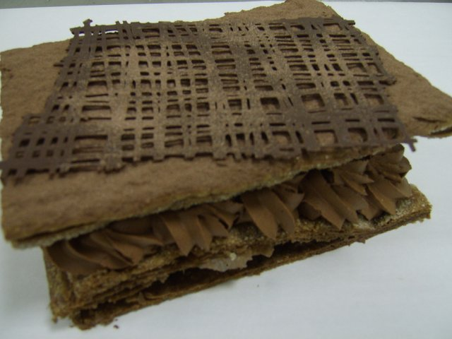 Millefeuille tout chocolat